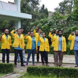 Peserta Beasiswa LPMAK di IKOPIN Bandung mengikuti pelatihan kewirausahaan. (miskan/lpmak)