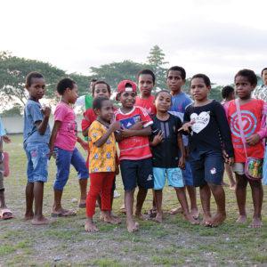 Anak-anak Sekolah Asrama Taruna Papua, Timika.