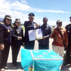 Penandatanganan berkas kerjasama antara LPMAK dan Balai Pendidikan dan Pelatihan Penerbang (BP3) Banyuwangi yang dilaksanakan di Kompleks Bandara Blimbingsari, Jalan Agung Wilis Kecamatan Rogojampi Banyuwangi.